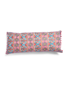 Made In India 14x32  Aztec Pillow