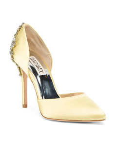 D Orsay Pointy Toe Evening Pumps