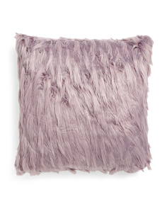 22x22 Indiana Faux Fur Pillow