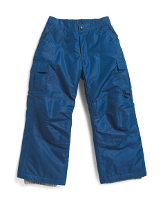 Youth Board Dog Snow Pants