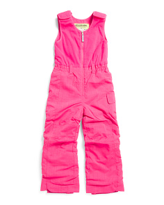 Little Girls Bailey Bib Snow Pants