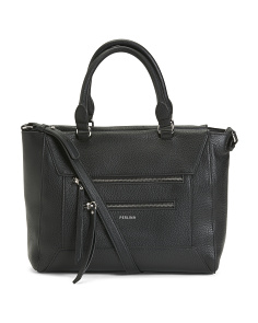 Drew Leather Satchel