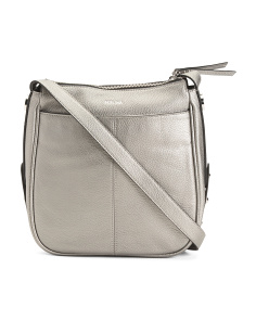 Krista Leather Large Crossbody