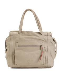 Leather Virginia Slouch Satchel