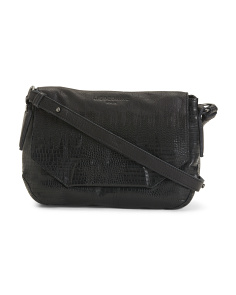 Yokote Reptile Leather Crossbody