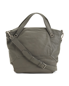 Manhattan Sporty Leather Tote