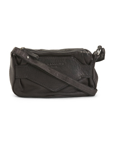 Matala Mini Tumbled Leather Crossbody