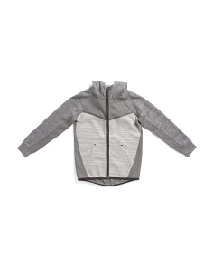 Big Boys Color Block Hooded Jacket