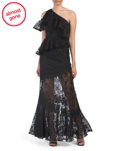 Recycled Silk Lace Chrissy Gown