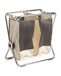 Double X Frame Laundry Hamper