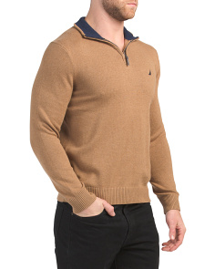 Quarter Zip Sweater
