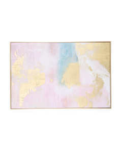 24x36 Cotton Candy Canvas Wall Art