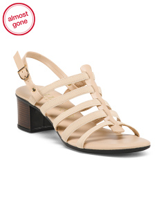 Made In Italy Slingback Sandals