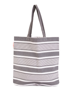 Striped  Everyday Tote