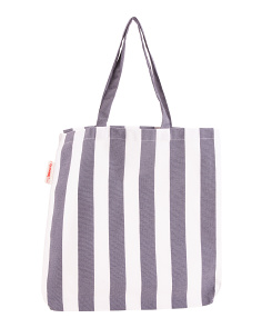 Bold Stripe Everyday Tote