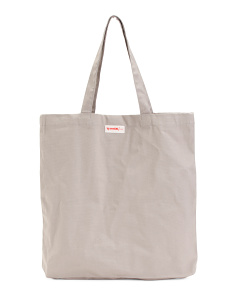 Canvas Solid Everyday Tote
