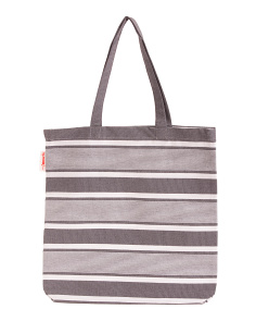Tailor Stripe Everyday Tote