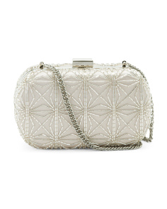 Gela Beaded Clutch