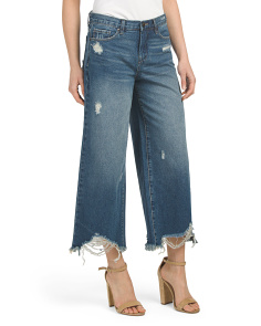 Class Act High Rise Wide Leg Jeans