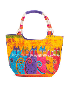 Feline Tribe Scoop Tote