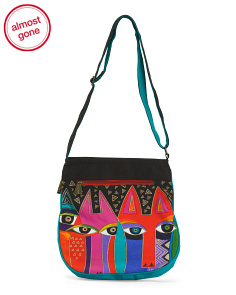 Tribal Cats Crossbody