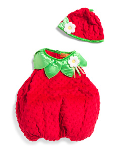 Baby Strawberry Bubble Costume