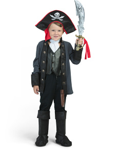 Kids 7pc Pillaging Pirate Costume