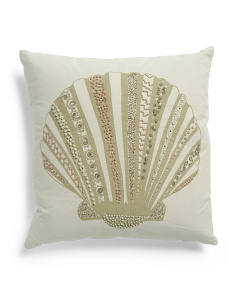 Made In India 18x18 Coastal Pillow