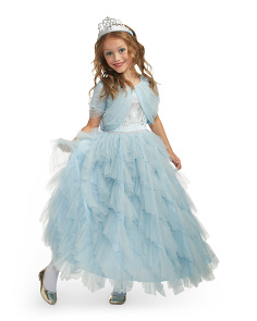 Kids Royal Carriage Princess Costume