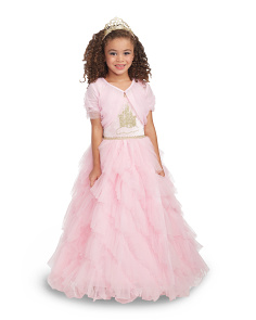 Kids Royal Castle Princess Costume