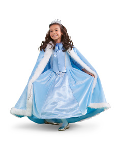 Girls Deluxe Enchanted Princess Costume