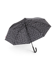 Auto Double Layer Stick Umbrella
