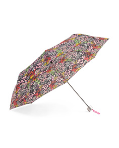 Floral Telescopic Manual Umbrella