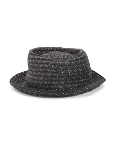 Osage Braid Pork Pie Hat