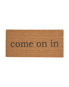 Made In India 22x47 Come On In Door Mat