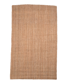 Made In India Boucle Jute Area Rug