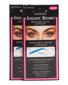 2pk Instant Brow Arched Stencils