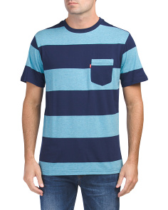 Duff Striped Jersey Tee