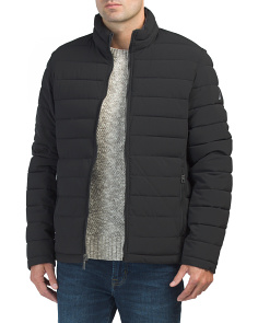 Quilted Stretch Reversible Jacket