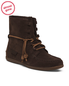Comfort Suede Boat Boots