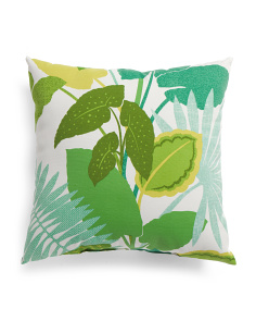 Made In USA 22x22 Indoor Outdoor Jungle Pillow