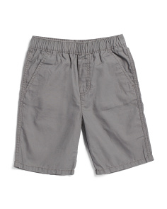 Little Boys Pull On Ripstop Shorts