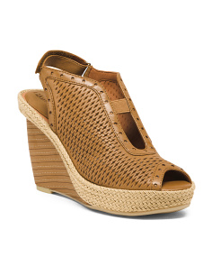 Ulimate Comfort Leather Wedges