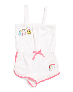 Little Girls Terry Romper Cover-up