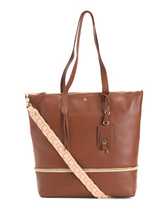 Santa Rosa Leather Tote