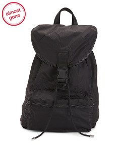 Made In Italy Solid Backpack