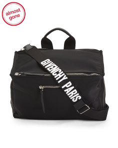 Made In Italy Media Messenger Duffel
