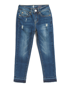 Big Girls Release Hem Ankle Jeans
