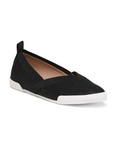 Comfort Stretch Slip On Flats