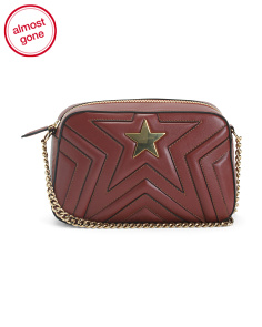 Made In Italy Small Star Shoulder Bag